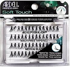Духи, Парфюмерия, косметика Набор пучковых ресниц - Ardell Soft Touch Duralash Medium Black Tapered Tips