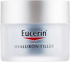 Духи, Парфюмерия, косметика Ночной крем против морщин для всех типов кожи - Eucerin Hyaluron-Filler Night