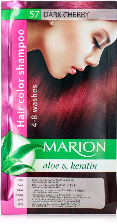 Оттеночный шампунь - Marion Aloe&Keratin