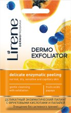 Духи, Парфюмерия, косметика Деликатный энзимный пилинг для лица - Lirene Dermo Exfoliator Peeling