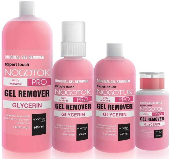 Средство для снятия гель-лака - Nogotok Gel Remover Pro