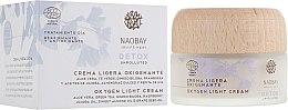 Духи, Парфюмерия, косметика Крем для лица - Naobay Cosmos Bio Detox Oxygen Light Cream