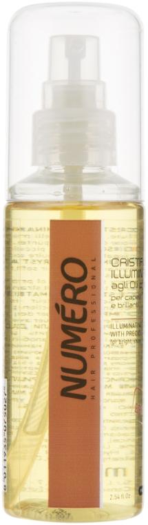 Жидкие кристаллы для придания блеска c ценными маслами - Brelil Professional Numero Illuminating Crystals With Precious Oils