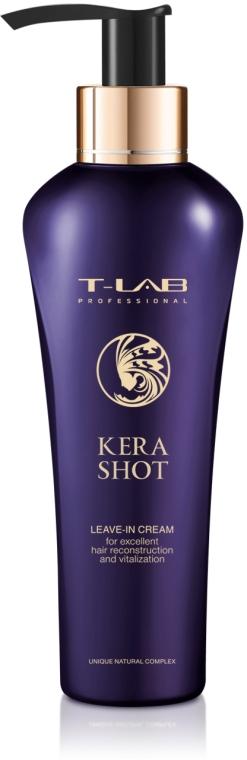 Несмываемый крем для для превосходной реконструкции и витализации - T-LAB Professional Kera Shot Leave-in Crem