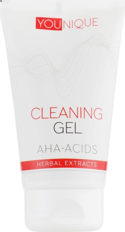 Очищающий гель с AHA-кислотами и растительными экстрактами - J'erelia YoUnique Cleaning Gel Aha-Acids