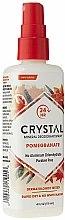Дезодорант-спрей с ароматом Граната - Crystal Essence Deodorant Body Spray Pomegranate — фото N2