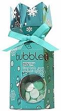 """Духи, Парфюмерия, косметика Набор """"Марокканский чай с мятой"""" - Bubble T Bath Fizzy Moroccan Mint Tea (bomb/100g+confetti/25g)"""