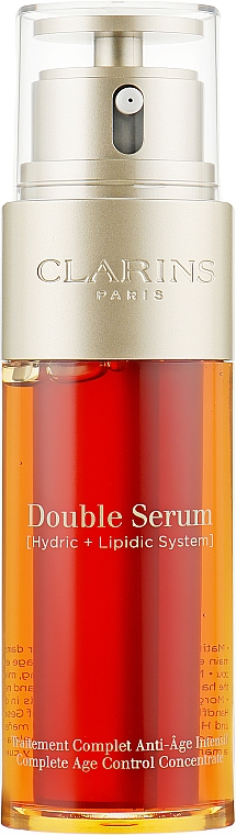 Двойная сыворотка - Clarins Double Serum Complete Age Control Concentrate — фото N1