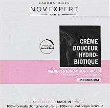 Духи, Парфюмерия, косметика Крем бархатный гидро-биотический для лица - Novexpert Magnesium Velvety Hydrobiotic Cream (пробник)