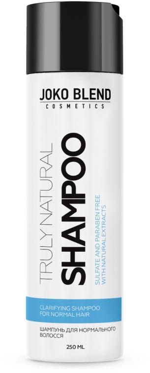 Бессульфатный шампунь для нормальных волос - Joko Blend Truly Natural Shampoo