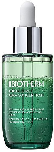 Двухфазная увлажняющая сыворотка для лица - Biotherm Aquasource Aura Concentrate