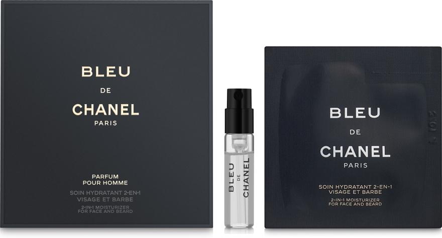 Chanel Bleu de Chanel Parfum - Набор (edt/1.5ml + cr/1ml)