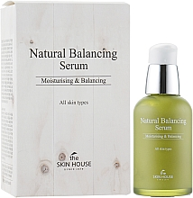 Духи, Парфюмерия, косметика Сыворотка для восстановления баланса кожи - The Skin House Natural Balancing Serum
