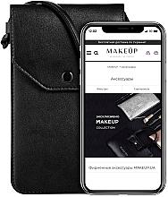 """Духи, Парфюмерия, косметика Чехол-сумка для телефона на ремешке, чёрный """"Cross"""" - Makeup Phone Case Crossbody Black"""