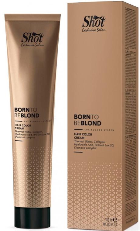 Крем-краска для волос - Shot Born To Be Blond Hair Color Cream