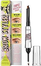 Духи, Парфюмерия, косметика Карандаш и тени для бровей 2в1 - Brow Styler Eyebrow Pencil & Powder Duo