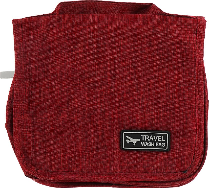 Органайзер-косметичка, бордовый - Mindo Travel Wash Bag