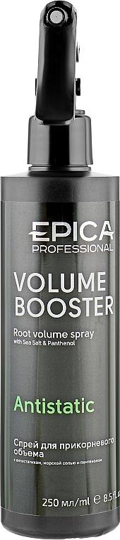 """Спрей для прикорневого объема с антистатическим комплексом """"Volume Booster"""" - Epica Professional Volume Booster Antistatic Root Volume Spray"""