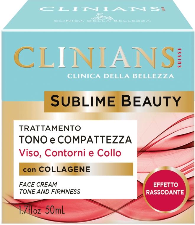 Крем для лица тонизирующий, формирующий и иллюминирующий - Clinians Sublime Beauty