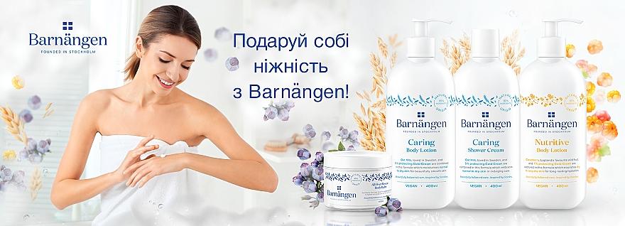 Крем-гель для душа с овсяным молочком для нормальной и сухой кожи - Barnangen Nordic Care Caring Shower Cream — фото N4