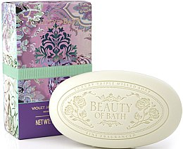 "Духи, Парфюмерия, косметика Мыло ""Фиолетовый имбирный жасмин"" - The Somerset Toiletry Co. Beauty of Bath Soap Violet Jasminium Ginger"