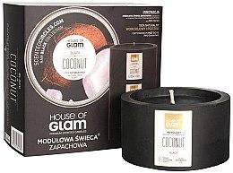 Духи, Парфюмерия, косметика Ароматическая свеча - House of Glam Black Coconut Candle