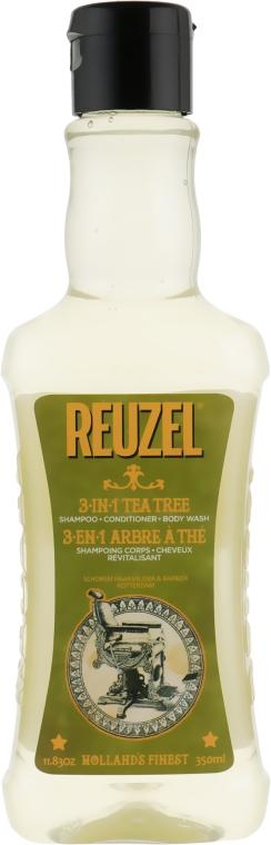 Шампунь 3в1 - Reuzel Tea Tree Shampoo Conditioner And Body Wash