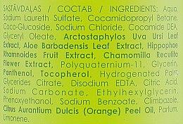 Шампунь для волос с апельсиновым маслом - Dzintars Kredo Natur Aroma Shampoo — фото N3