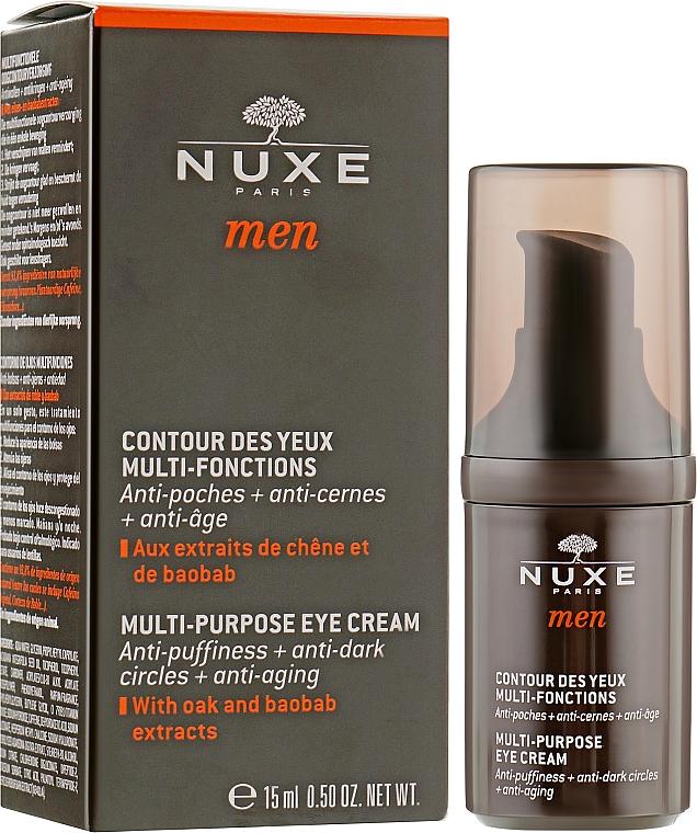 Засіб для контуру очей - Nuxe Men Multi-Purpose Eye Cream — фото N1
