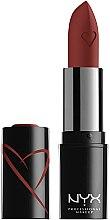 Духи, Парфюмерия, косметика Сатиновая помада для губ - NYX Professional Makeup Shout Loud Satin Lipstick