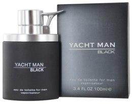 Духи, Парфюмерия, косметика Myrurgia Yacht Man Black - Туалетная вода