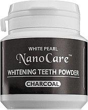 Духи, Парфюмерия, косметика Отбеливающий зубной порошок - VitalCare White Pearl NanoCare Charcoal Teeth Powder