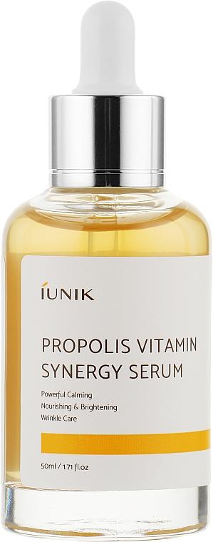 Витаминная сыворотка с прополисом - iUNIK Propolis Vitamin Synergy Serum