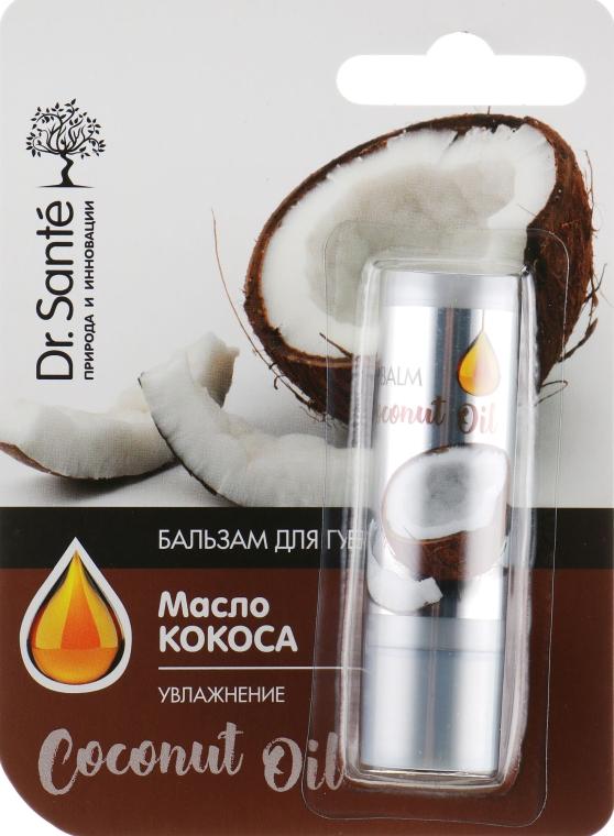 """Бальзам для губ с маслом Кокоса """"Увлажнение"""" - Dr. Sante Coconut Oil Lip Balm"""