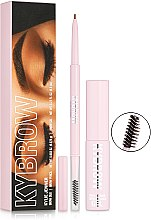 Набор для бровей - Kylie Cosmetics KYBROW Brow Duo Kit (brow/pen/0.075g+brow/gel/6.5ml) — фото N1