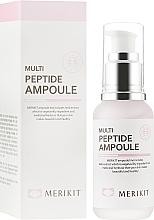 Духи, Парфюмерия, косметика Сыворотка для антивозрастного ухода с пептидами - Merikit Multi Peptide Ampoule