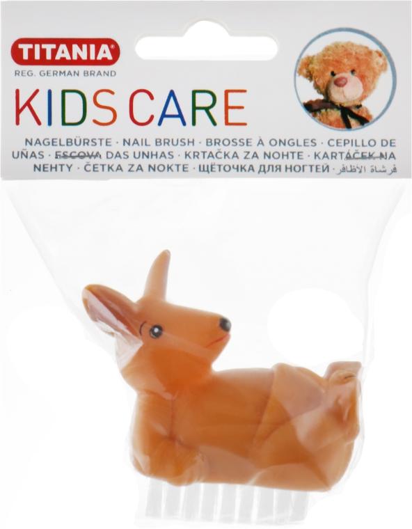 Детская щетка для ногтей, кенгуру - Titania
