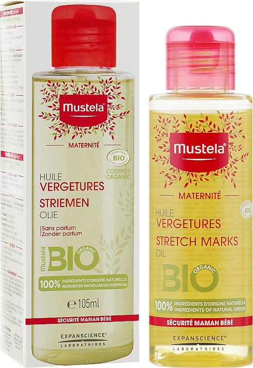 Масло от растяжек непарфюмированное - Mustela Maternity Stretch Marks Oil Fragrance-Free
