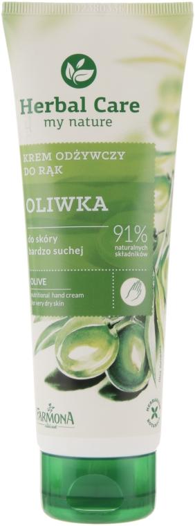 """Крем для рук """"Оливка"""" - Farmona Herbal Care"""