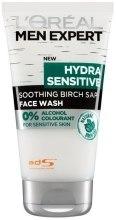 Духи, Парфюмерия, косметика Гель для умывания - L'Oreal Paris Men Expert Hydra Sensitive Soothing Birch Sap Face Wash