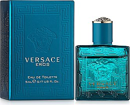 Парфумерія, косметика Versace Eros - Туалетна вода (міні)
