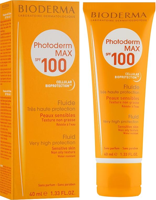 Солнцезащитная эмульсия - Bioderma Photoderm Max Spf 100 Sun Fluid
