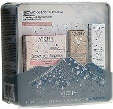Духи, Парфюмерия, косметика Набор - Vichy Neovadiol Rose Platinum (cr/3ml + cr/50ml + booster/10ml)