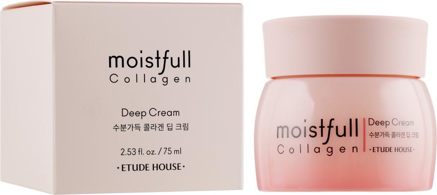 Крем для лица увлажняющий с коллагеном - Etude House Moistfull Collagen Deep Cream