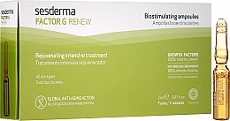 Духи, Парфюмерия, косметика Ампулы для лица - SesDerma Laboratories Factor G Renew Biostimulating Ampoules