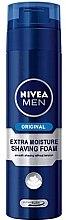 Духи, Парфюмерия, косметика Пена для бритья - Nivea Original Extra Moisture Shaving Foam