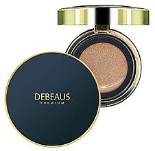 Духи, Парфюмерия, косметика Крем-кушон, со сменным блоком - Debeaus Premium Cream Cushion SPF50