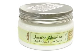 "Духи, Парфюмерия, косметика Скраб для лица ""Жасмин"" - Lemongrass House Jasmine Absolute Jojoba Bead Face Scrub"