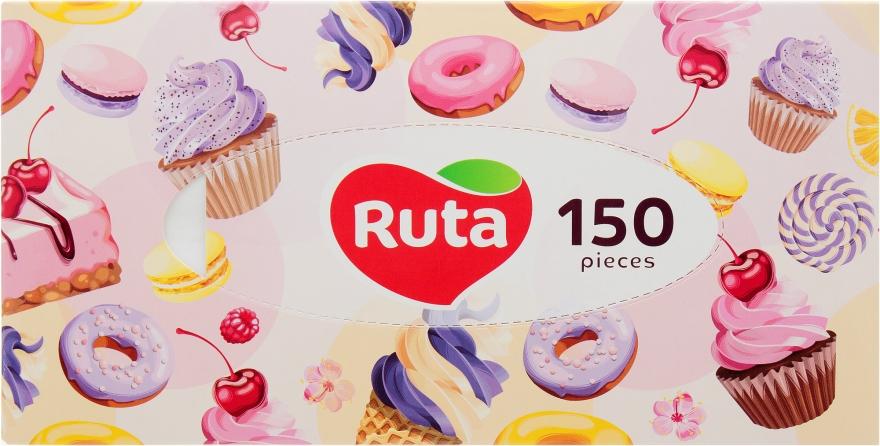Косметические салфетки, 150шт., сладости - Ruta