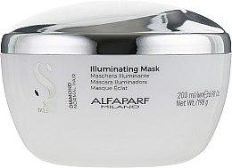 Духи, Парфюмерия, косметика Маска для блеска волос - Alfaparf Milano Semi Di Lino Diamond Illuminating Mask